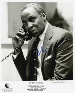 ROBERT GUILLAUME - AUTOGRAPHED SIGNED PHOTOGRAPH