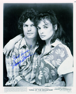 HARRY HAMLIN - AUTOGRAPHED SIGNED PHOTOGRAPH