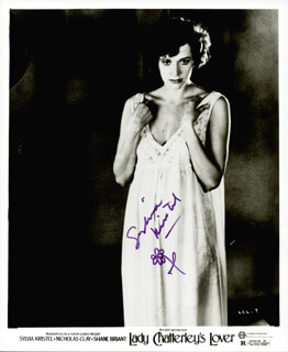 SYLVIA KRISTEL - PRINTED PHOTOGRAPH SIGNED IN INK