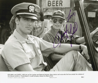 CHERYL LADD - AUTOGRAPHED SIGNED PHOTOGRAPH