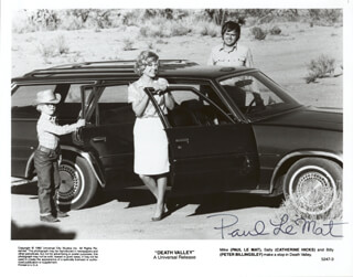 PAUL LE MAT - PRINTED PHOTOGRAPH SIGNED IN INK