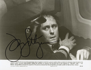 JOHN LITHGOW - AUTOGRAPHED SIGNED PHOTOGRAPH
