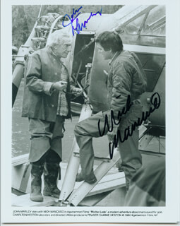MOTHER LODE MOVIE CAST - AUTOGRAPHED SIGNED PHOTOGRAPH CO-SIGNED BY: NICK MANCUSO, JOHN MARLEY
