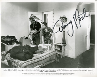 DONNY MOST - AUTOGRAPHED SIGNED PHOTOGRAPH