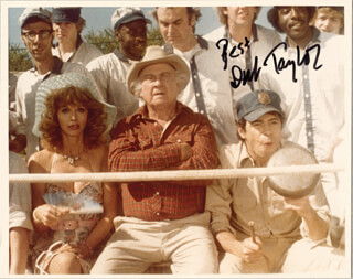 DUB TAYLOR - AUTOGRAPHED SIGNED PHOTOGRAPH