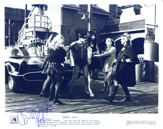 BURT WARD - AUTOGRAPHED SIGNED PHOTOGRAPH