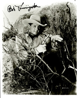 ROBERT LIVINGSTON - AUTOGRAPHED SIGNED PHOTOGRAPH