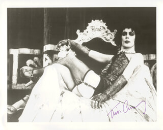 TIM CURRY - AUTOGRAPHED SIGNED PHOTOGRAPH