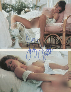 SUZI SCHOTT - MAGAZINE PHOTOGRAPH SIGNED