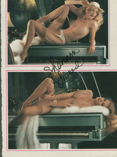SHANNON TWEED - MAGAZINE PHOTOGRAPH SIGNED