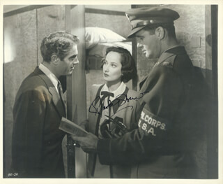 MERLE OBERON - AUTOGRAPHED SIGNED PHOTOGRAPH