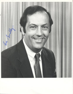BILL BRADLEY - AUTOGRAPHED SIGNED PHOTOGRAPH