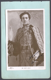 Autographs: HENRY AINLEY - PHOTOGRAPH SIGNED CO-SIGNED BY: FRED STAFFORD
