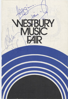 DIONNE WARWICK - SHOW BILL SIGNED CO-SIGNED BY: DICK JENSEN
