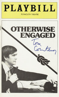 TOM COURTENAY - SHOW BILL COVER SIGNED
