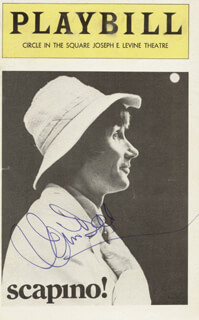 JIM DALE - SHOW BILL COVER SIGNED