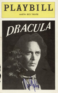 RAUL JULIA - SHOW BILL COVER SIGNED
