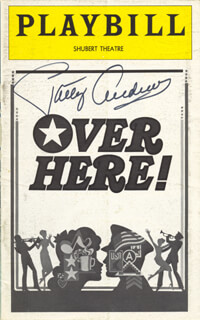 Autographs: PATTY ANDREWS - SHOW BILL SIGNED