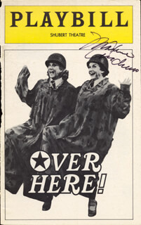 Autographs: MAXENE ANDREWS - SHOW BILL SIGNED