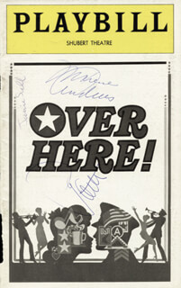 Autographs: PATTY ANDREWS - SHOW BILL SIGNED CO-SIGNED BY: MAXENE ANDREWS, JANIE SILL