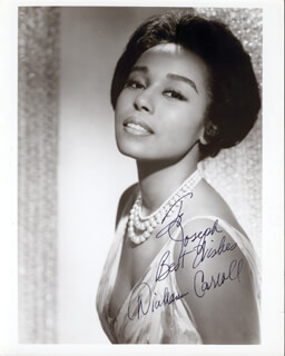DIAHANN CARROLL - AUTOGRAPHED INSCRIBED PHOTOGRAPH