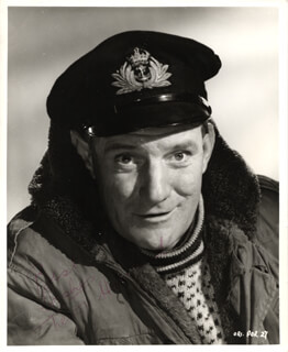 TREVOR HOWARD - AUTOGRAPHED SIGNED PHOTOGRAPH
