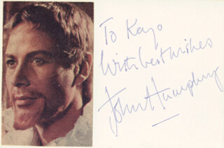 JOHN HUMPHRY - AUTOGRAPH NOTE SIGNED