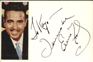 TENNESSEE ERNIE FORD - INSCRIBED SIGNATURE