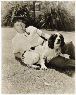 BING CROSBY - AUTOGRAPHED INSCRIBED PHOTOGRAPH 1939