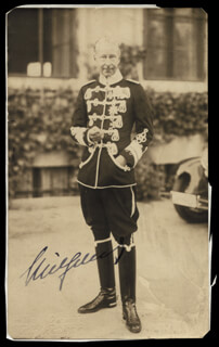 Autographs: PRINCE FRIEDRICH WILHELM (GERMANY) - PHOTOGRAPH SIGNED