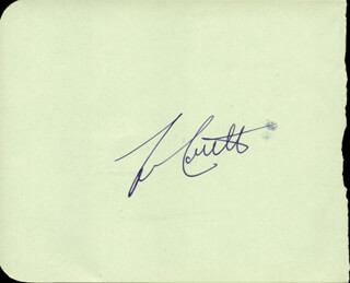 Autographs: ABBOTT & COSTELLO (LOU COSTELLO) - SIGNATURE(S) CO-SIGNED BY: KENNETH RICHMOND