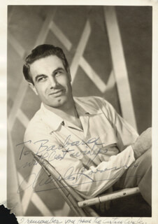 CHARLES KORVIN - AUTOGRAPHED INSCRIBED PHOTOGRAPH