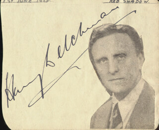 HARRY WELCHMAN - AUTOGRAPH