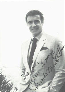 RICARDO MONTALBAN - AUTOGRAPHED INSCRIBED PHOTOGRAPH