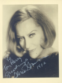 GLORIA SWANSON - AUTOGRAPHED INSCRIBED PHOTOGRAPH 1972