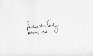 Autographs: VICE ADMIRAL RICHARD H. TRULY - SIGNATURE(S)