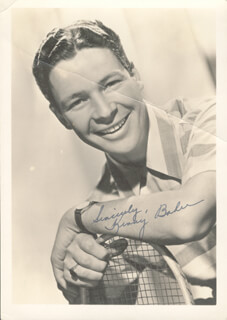 TED HEATH BAND (KENNY BAKER) - AUTOGRAPHED SIGNED PHOTOGRAPH