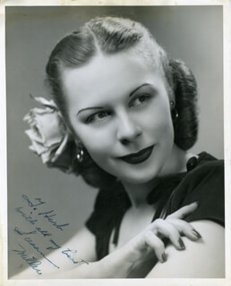 SUSAN MILLER - AUTOGRAPHED INSCRIBED PHOTOGRAPH