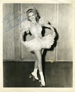 GLORIA NORD - AUTOGRAPHED INSCRIBED PHOTOGRAPH