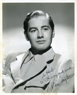 DON TAYLOR - AUTOGRAPHED INSCRIBED PHOTOGRAPH