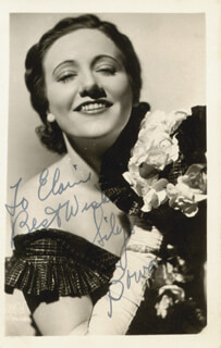SIBYL BOWAN - AUTOGRAPHED INSCRIBED PHOTOGRAPH
