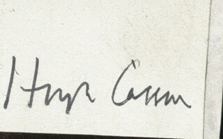 Autographs: HUGH CASSON - SIGNATURE(S)