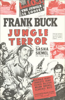 Autographs: FRANK BRING 'EM BACK ALIVE BUCK - ADVERTISEMENT SIGNED