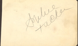 SOPHIE TUCKER - AUTOGRAPH CO-SIGNED BY: THE RITZ BROTHERS , THE RITZ BROTHERS (JIMMY RITZ), THE RITZ BROTHERS (AL RITZ), THE RITZ BROTHERS (HARRY RITZ)