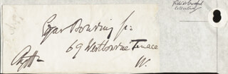 GEORGE DOUGLAS (8TH DUKE OF ARGYLL) CAMPBELL - AUTOGRAPH ENVELOPE SIGNED