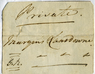 Autographs: HENRY (MARQUESS OF LANSDOWNE V) PETTY-FITZMAURICE - SIGNATURE(S)