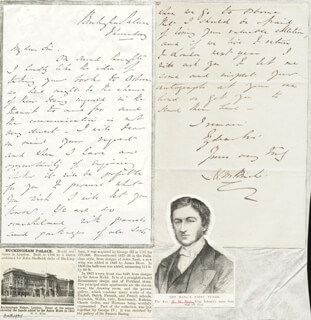 HENRY M. BIRCH - AUTOGRAPH LETTER SIGNED