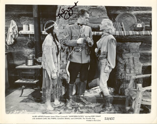 KIRBY GRANT - AUTOGRAPHED SIGNED PHOTOGRAPH