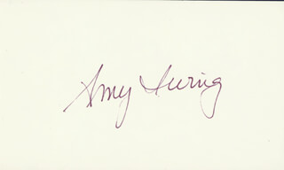 AMY IRVING - AUTOGRAPH