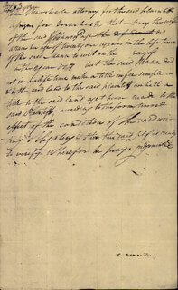 Autographs: CHIEF JUSTICE JOHN MARSHALL - AUTOGRAPH DOCUMENT SIGNED 09/30/1786